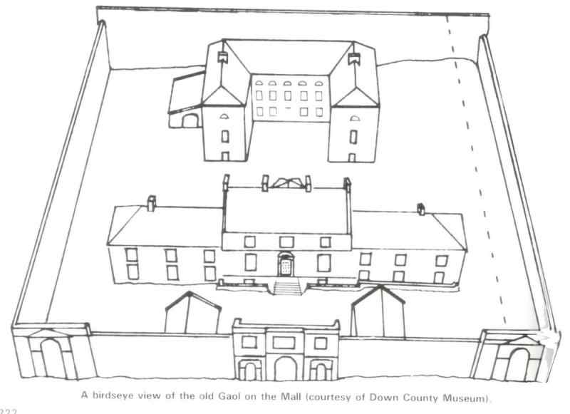 Downpatrick Gaol-1796 to 1831. Now Down County Museum