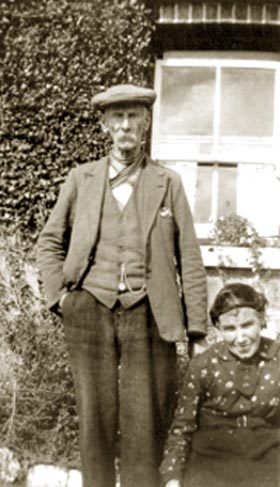 Joseph and Anne O'Reilly, taken in Urker in the early 1930s